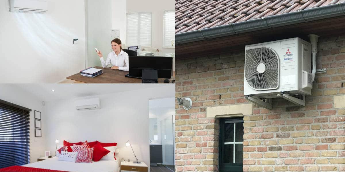airco voor meerdere kamers: multi split airco