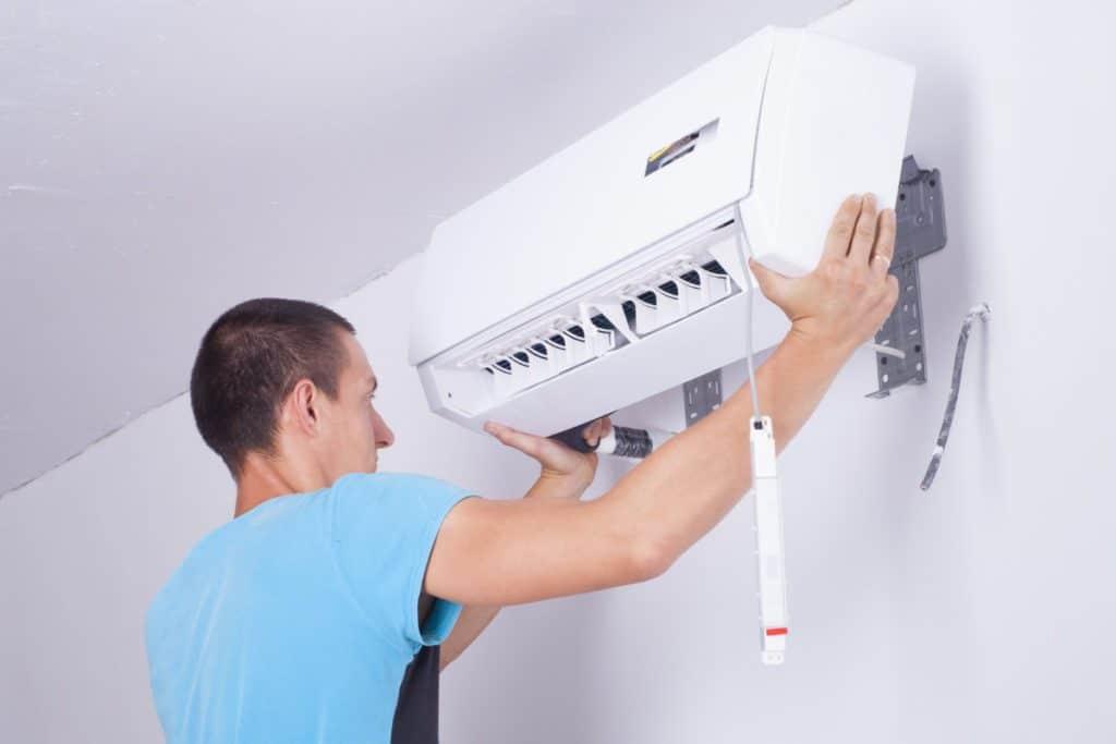 binnenunit airco installeren
