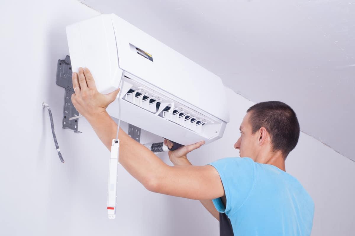 vaste airco installeren